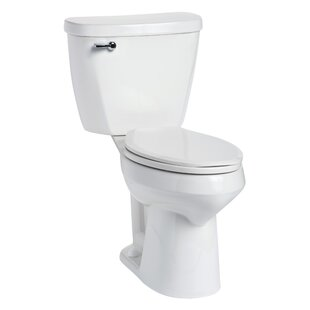 Mansfield Plumbing Products Summit SmartHeight 1.6 GPF Elongated Two-Piece Toilet