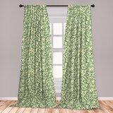 Pale Green Curtains   Wayfair