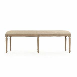 Bodil Wood Bench by One Allium Way