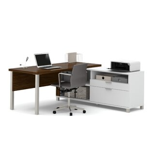 Heyworth L-Shape Desk Office Suite by Comm Office Reviews