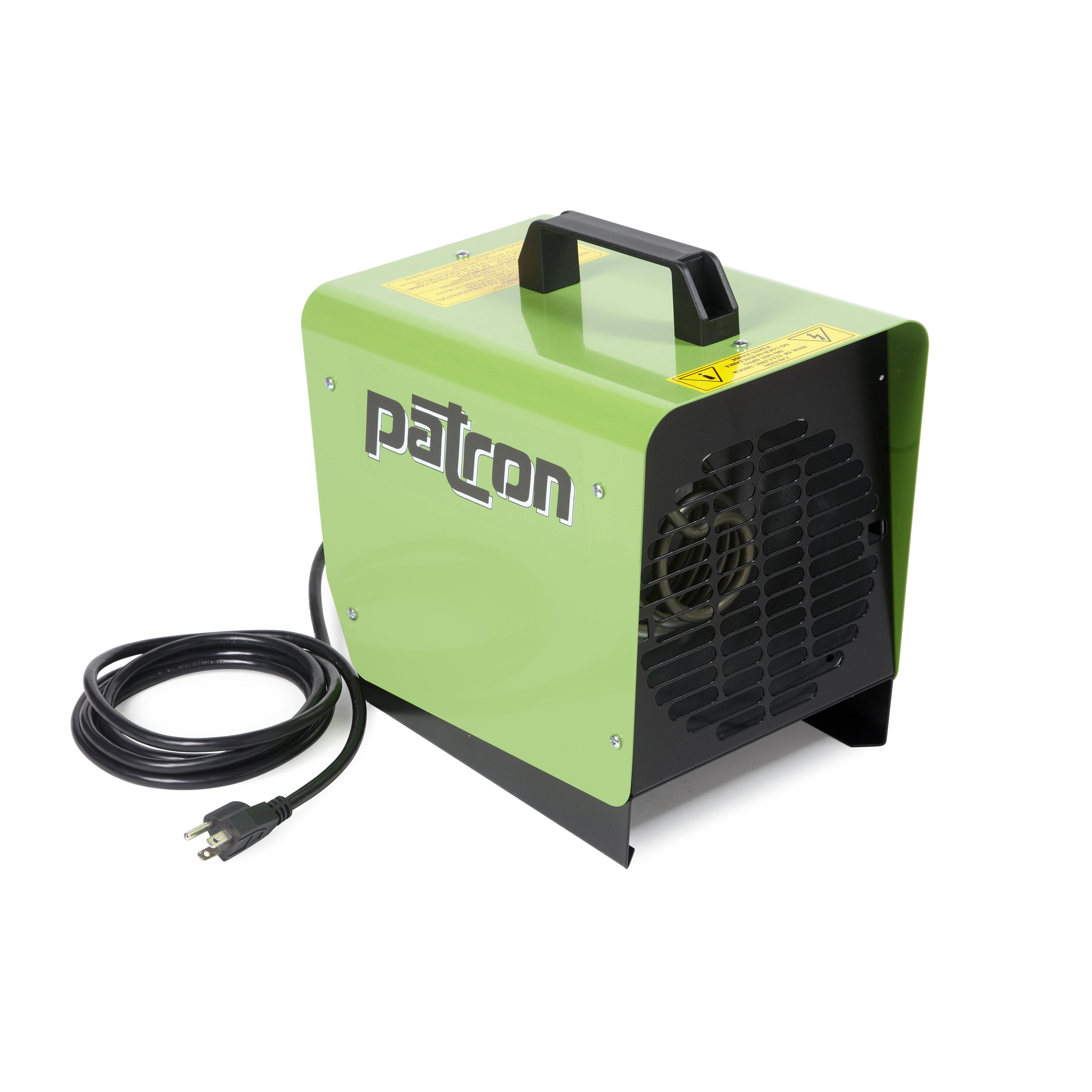 E Series 1 500 Watt Portable Electric Fan Utility Heater