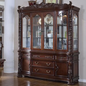 Arnaline China Cabinet by Astoria Grand
