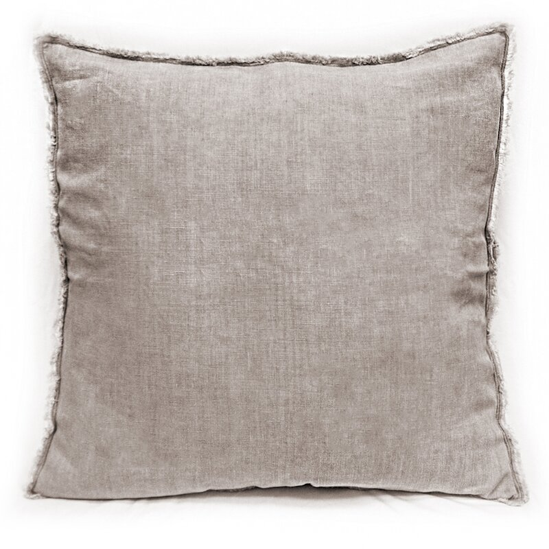 Hardman Linen Pillow #taupe #pillow #linen
