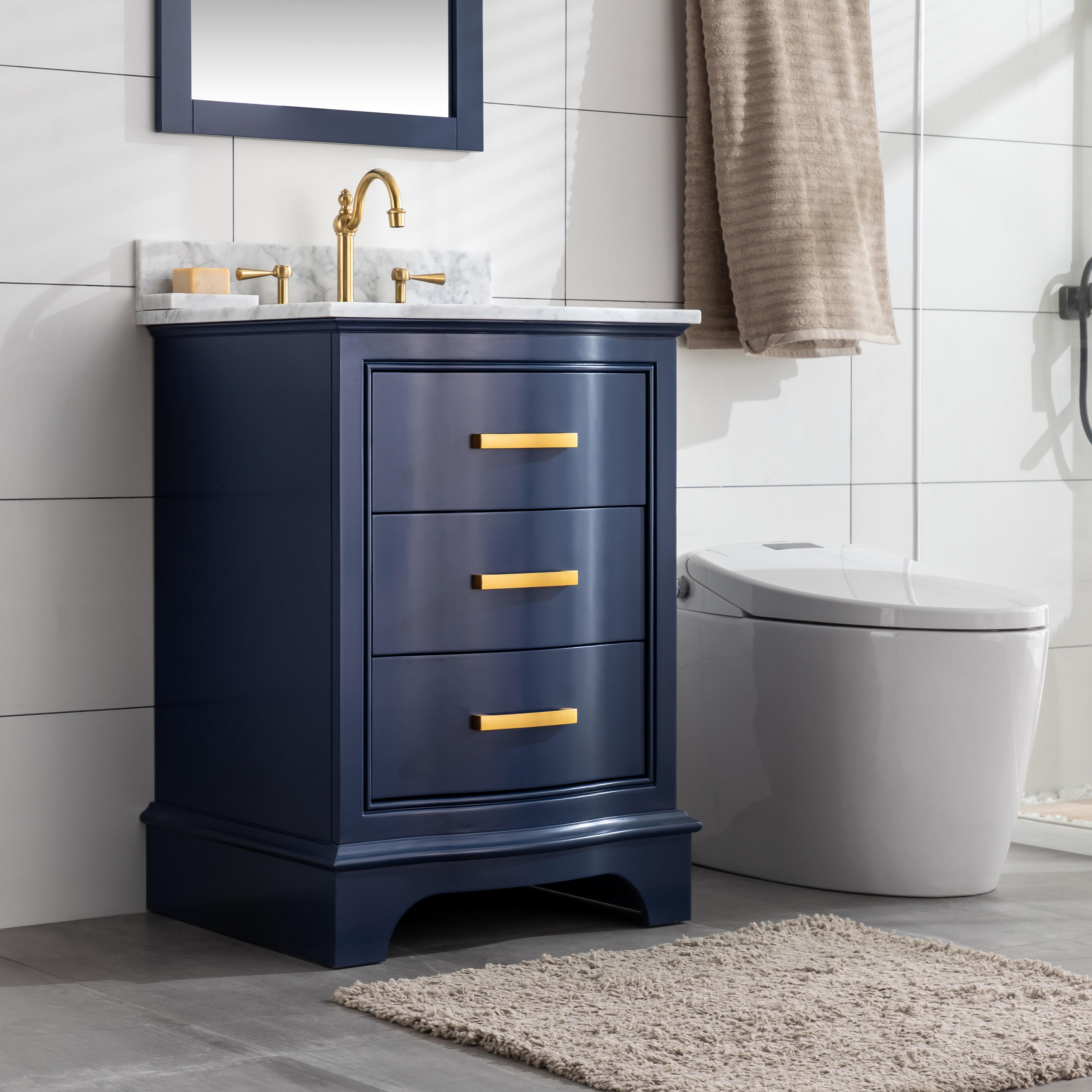 Goleta 24 Single Bathroom Vanity Set Reviews