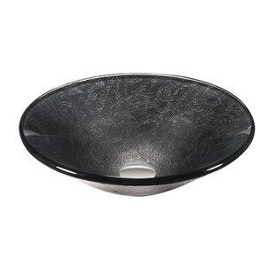 Find a Glass Circular Vessel Bathroom Sink ByLegion Furniture