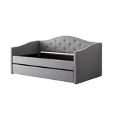 Debord Twin Daybed with Trundle by Darby Home Co