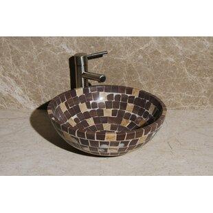 Top Reviews Stone Circular Vessel Bathroom Sink ByAllstone Group