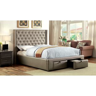 House of Hampton Skegness Upholstered Storage Platform Bed