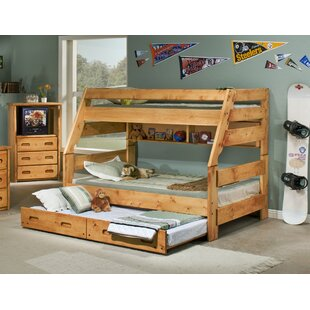 Best Price Brieley Twin Over Full Bunk Bed with Trundle by Harriet Bee Reviews (2019) & Buyer's Guide