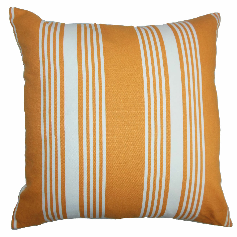 The Pillow Collection Perri Stripes Cotton Throw Pillow Cover Wayfair