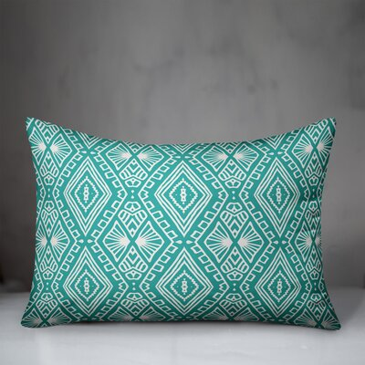 Revis Boho Tribal Indoor/Outdoor Lumbar Pillow by Bungalow Rose Sale