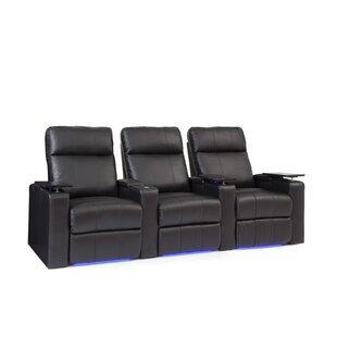 Bravo Home Theater Sofa (Row Of 3) By Latitude Run