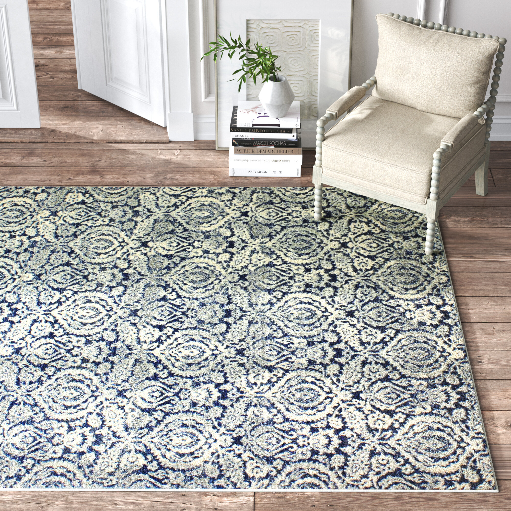 Rectangle White Area Rugs You Ll Love In 2020 Wayfair