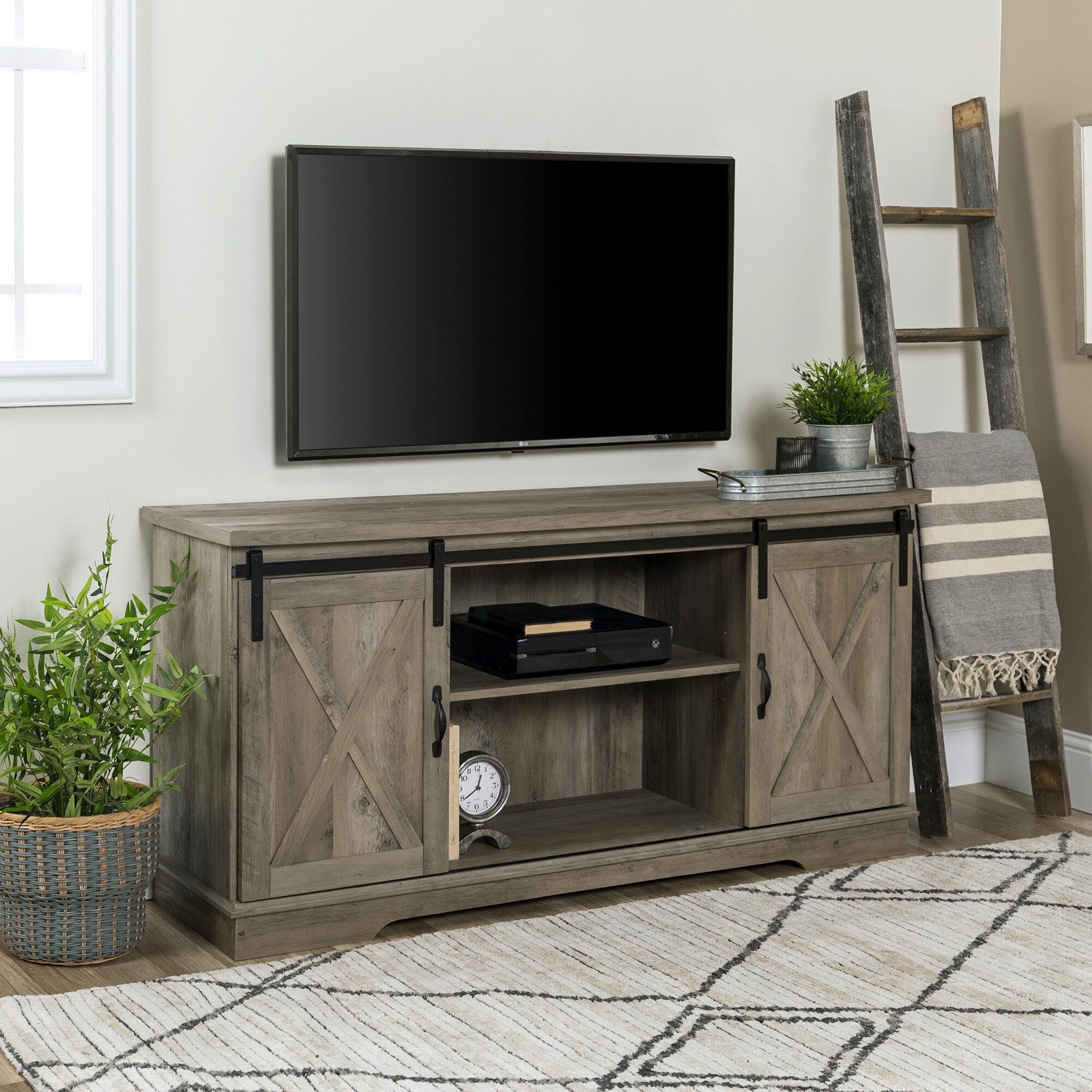 buy online 75c43 f4a2f Kemble TV Stand for TVs up to 58