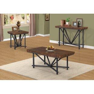 Gracie Oaks Kinman 3 Piece Coffee Table Set
