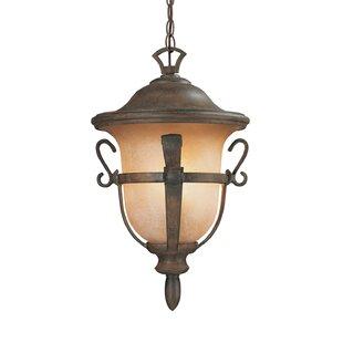 Kalco Tudor 3-Light Outdoor Hanging Lantern