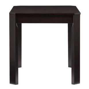 Goodman Solid Wood Dining Table Breakwater Bay
