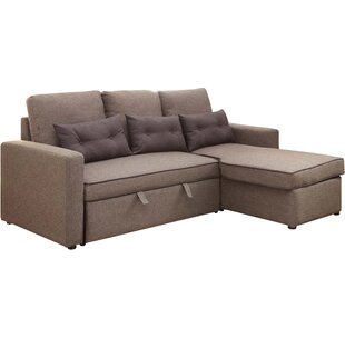 Shop Cosmopolitan Sleeper Sectional by Latitude Run