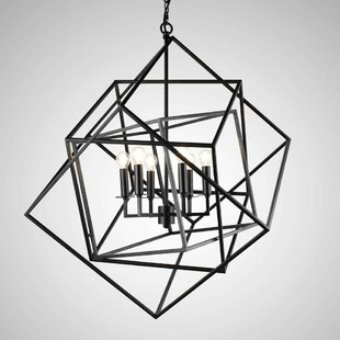 Mcelvain 6-Light LED Geometric Chandelier by Ivy Bronx