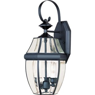 Bargain Zabel 3-Light Outdoor Wall Lantern By Alcott Hill