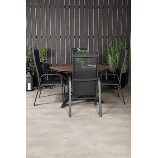 Drishya 4 Seater Dining Set By Sol 72 Outdoor