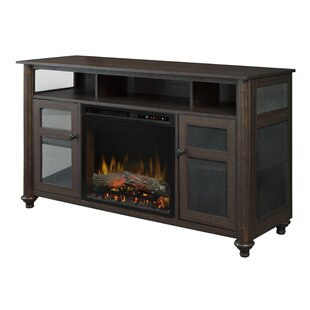 ConCourse TV Stand for TVs up to 60 with Fireplace Included
