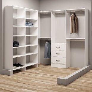 Top Reviews Demure Design 81W - 90.25W Closet System ByTidySquares Inc.