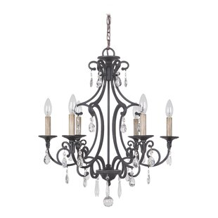 Astoria Grand Vanderbilt 6-Light Candle Style Chandelier