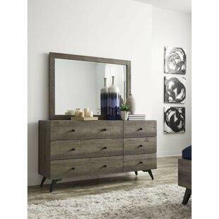 Boyett 5 Drawer Double Dresser by Foundry Select