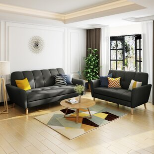 Cavitt 2 Piece Living Room Set by George Oliver
