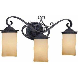 Read Reviews Sevila 3-Light Vanity Light By Volume Lighting