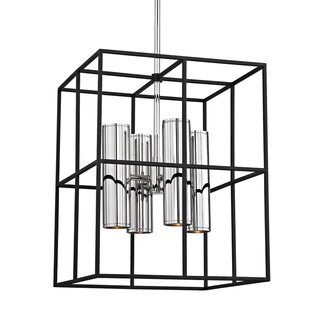 Mercer41 Veronica 8-Light Square/Rectangle Chandelier