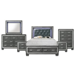 Anthea Platform 6 Piece Bedroom Set