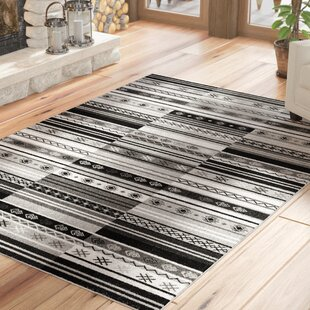 Kari Charcoal Indoor/Outdoor Area Rug