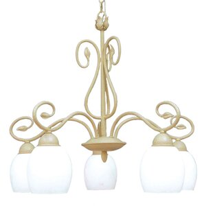 Champlaign 5-Light Shaded Chandelier