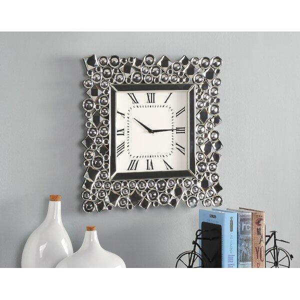House Of Hampton Yoshida Wall Clock Wayfair