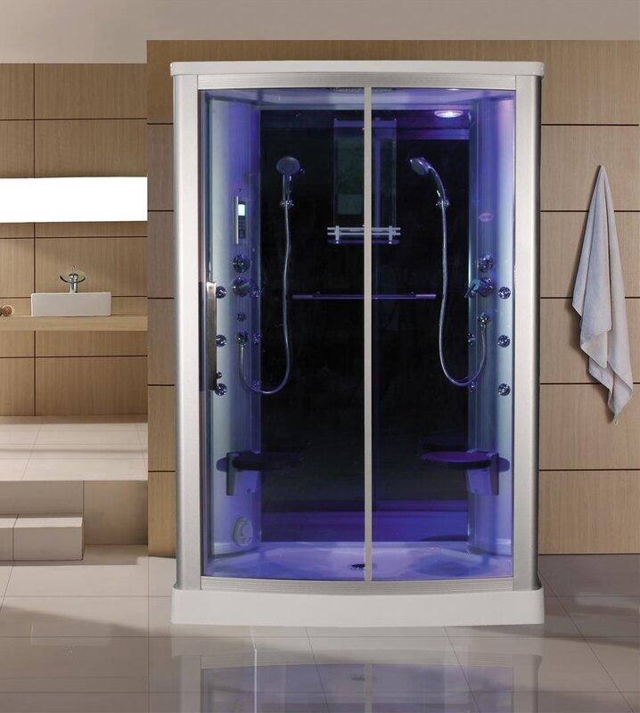 Sliding Door Steam Shower Enclosure Unit & Eagle Bath Sliding Door Steam Shower Enclosure Unit \u0026 Reviews ... Pezcame.Com