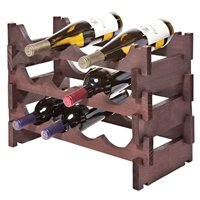 12 Bottle Floor Wine Bottle Rack
