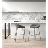 Halina Bar Stool (Set of 2) by Brayden Studio®
