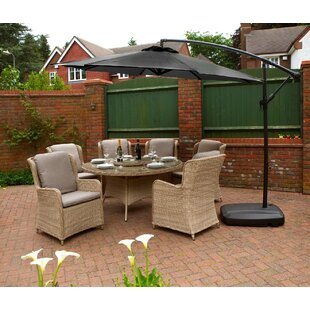 Brodie 3m Cantilever Parasol By Freeport Park