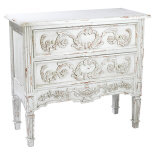 Samantha 2 Drawer Accent Chest by AA Importing
