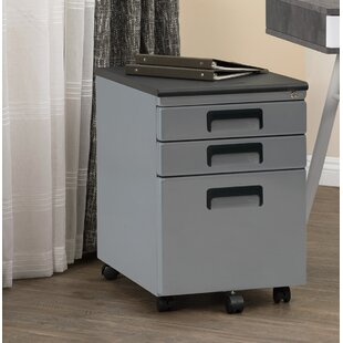 Calico Designs Metal Rolling 3-Drawer Ver..