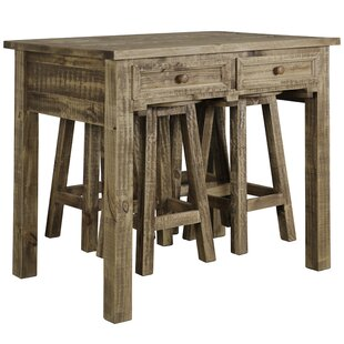 Marcella 5 Piece Solid Wood Dining Set