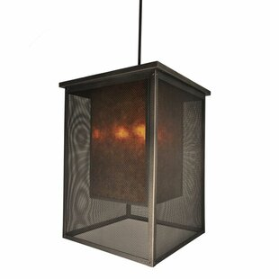 Steel Partners Palm Springs 1-Light Square/Rectangle Pendant