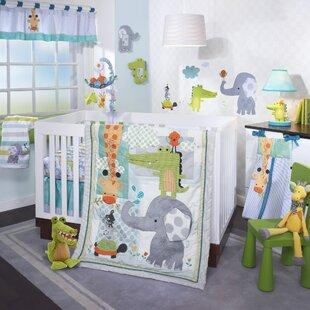Yoo-Hoo 4 Piece Crib Bedding Set ByLambs & Ivy