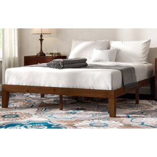 Winston Porter Hullinger Solid Wood Platform Bed