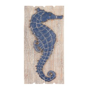 Exceptionnel Navy Seahorse Wall Décor
