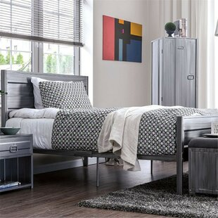 Lancaster Metal Platform Bed by 17 Stories Today Sale Only