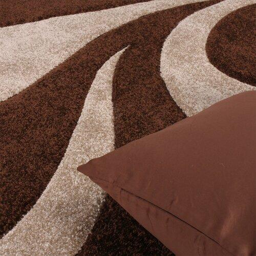 Kassandra Brown/Beige Rug Zipcode Design Rug size: Runner 80 x 300cm