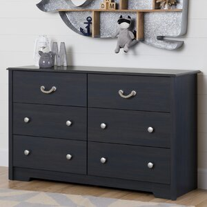 Aviron 6 Drawer Double Dresser